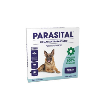 Parasital collar antiparasitario natural