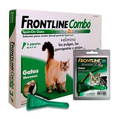 Antiparasitario Frontline Combo Gatos