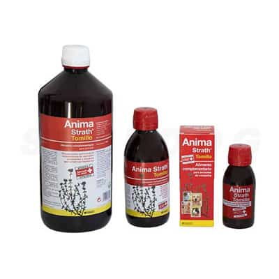 Suplemento nutricional Anima Strath Tomillo. Refuerza las defensas, antitusivos, antimucolítico.