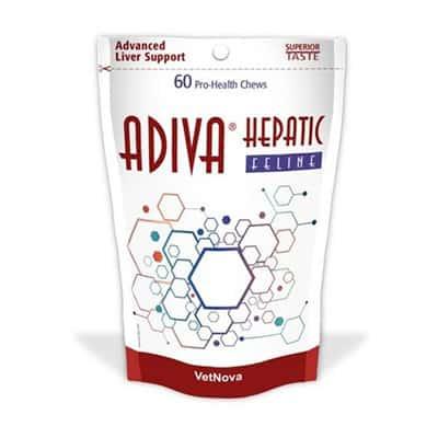 Adiva hepatic feline control función hígado