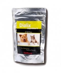 Dialix Lespedeza para tratamiento de enfermedad renal crónica perros y gatos