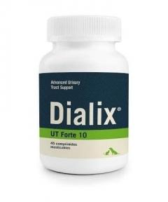 Tratamiento afecciones urinarias de perros y gatos con Dialix UT Forte-10