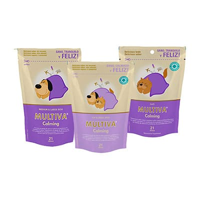 Multiva calming calmante natural para perros y gatos