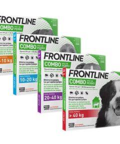 Frontline combo antipulgas y antigarrapatas