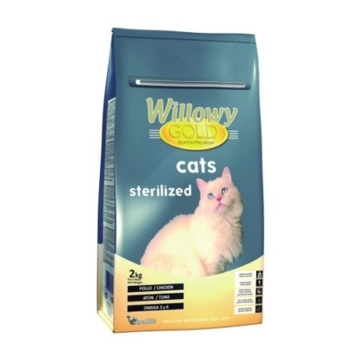 Willowy Gold Cats Esterilizados para gatos con tendencia a tener sobrepeso