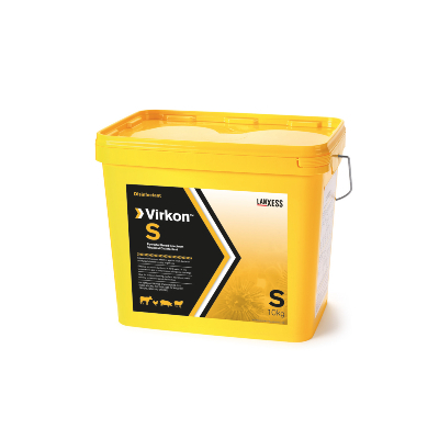 Virkon S desinfectante virucida de superficies